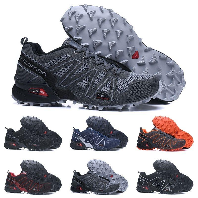 305d94711bf0 2019 2018 Salomon Speedcross 3.5 Trail Best Quality Men Shoes Black Fashion  Sports Jogging Cheap Sport Sneakers Outdoor Walking Running Shoes From  Yeezysale ...