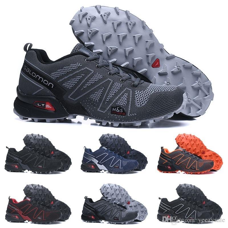 ae70d14961e 2018 Salomon Speedcross 3.5 Trail Melhor Qualidade Men Shoes Preto Moda  Esportes Jogging Barato Tênis Esportivos Ao Ar Livre Andando Sapatos de  Corrida