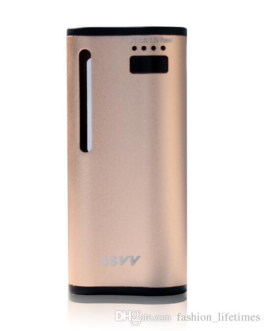 Authentique MJTech 5S VV mini mod batterie Wax Vape Box Mod 650 mAh avec connecteur magnétique pour la cire et épais O stylo Vaporisateurs vape