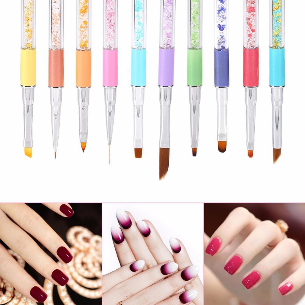 Wholesale Single Acrylic Nail Art Pen Brush Nail Uv Brush Gel