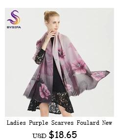 100% Mulberry Silk Women Silk Scarf Shawl Printed Hot Sale Chain Pattern Brand Silk Muffler Large Air Condition Cape Kerchief