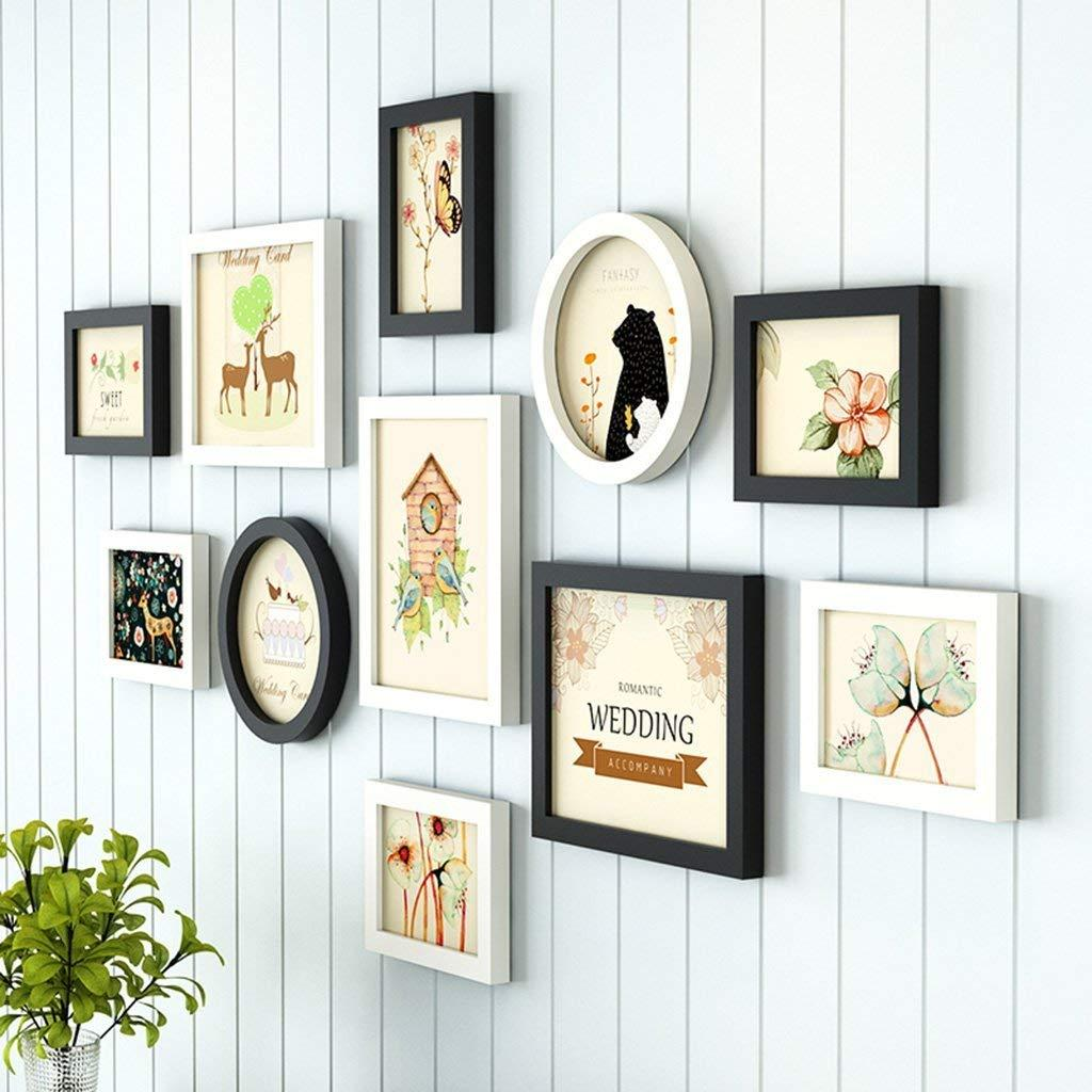 Photo Wall Combination Home Decor, of Wall And Desktop Photo Frames ...