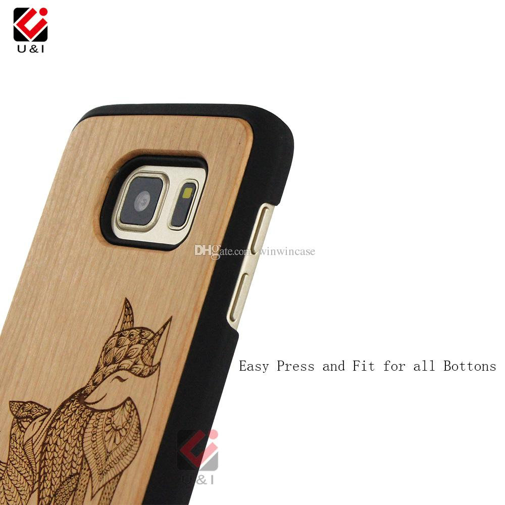 Best Price Wooden Cell Phone Designer Case For Samsung Galaxy S7 Mixed Model Design For Galaxy S7 100% Real Wood