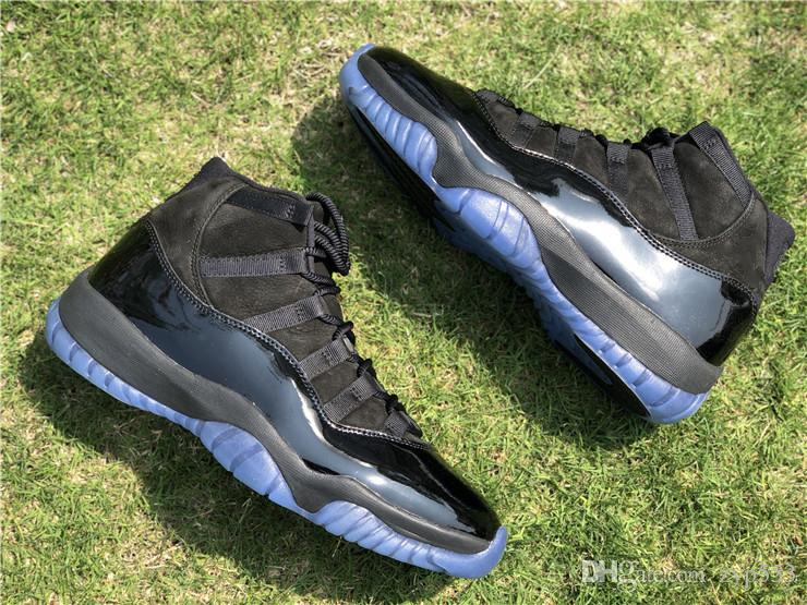Best Release 11 Cap And Gown Blackout 11s Basketball Shoes Sneakers