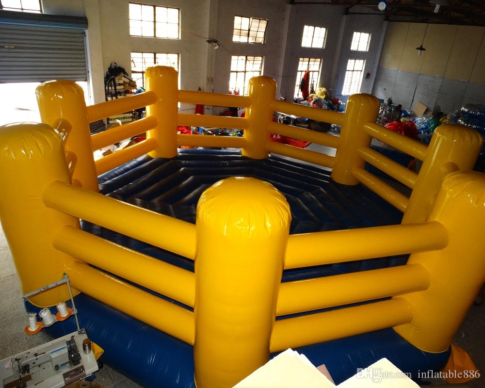 2017 Popular Polygona lnflatable boxing ring Jumper Bouncer sports Bouncers
