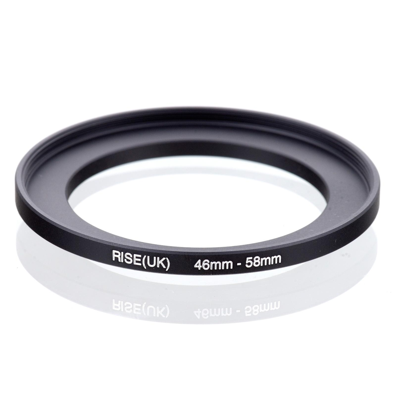 46-58mm 46-58 mm 46 to 58 Step UP filter ring adapter