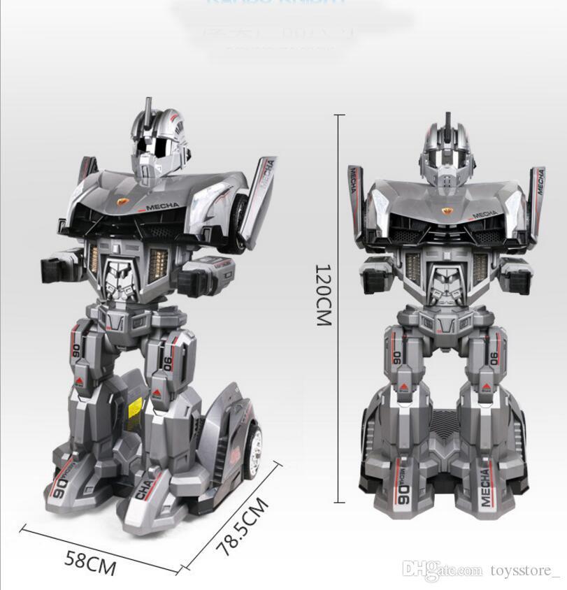 12V Enfants Jouet De Voiture Chevalier De Voiture Robot Enfants Télécommande Voiture Bébé Poussette en gros Livraison Gratuite