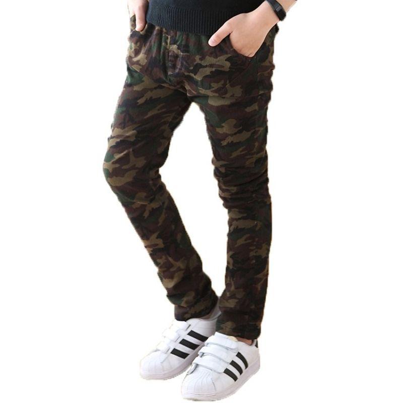 Camouflage Kinder Hosen Hose Kleidung Großhandel Teenager n0OPkNwX8Z