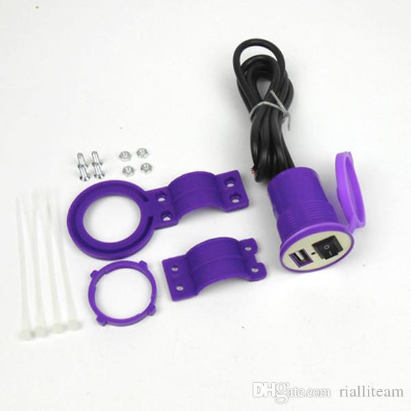universal Motorcycle car charger USB12V waterproof dustproof recharging accessories general mobile charger HONDA SUZUKI KTM YAMAHA KAWASAKI