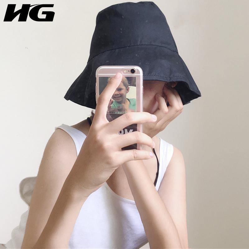 6c06c790e [HG] New Arrival Women Summer 2018 Hong Kong Fashion Adult Casual Skullies  Female Solid Color Cutton Skullies GWY1702