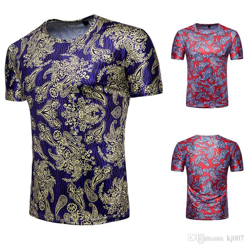 f682750f8 3d T Shirts Paisley Summer Mens Shirt New Brands Short Sleeve Bandana 3d  Shirt Printing Fashion Shirts Clothes High Quality Casual Shirts Great Tees  Latest ...