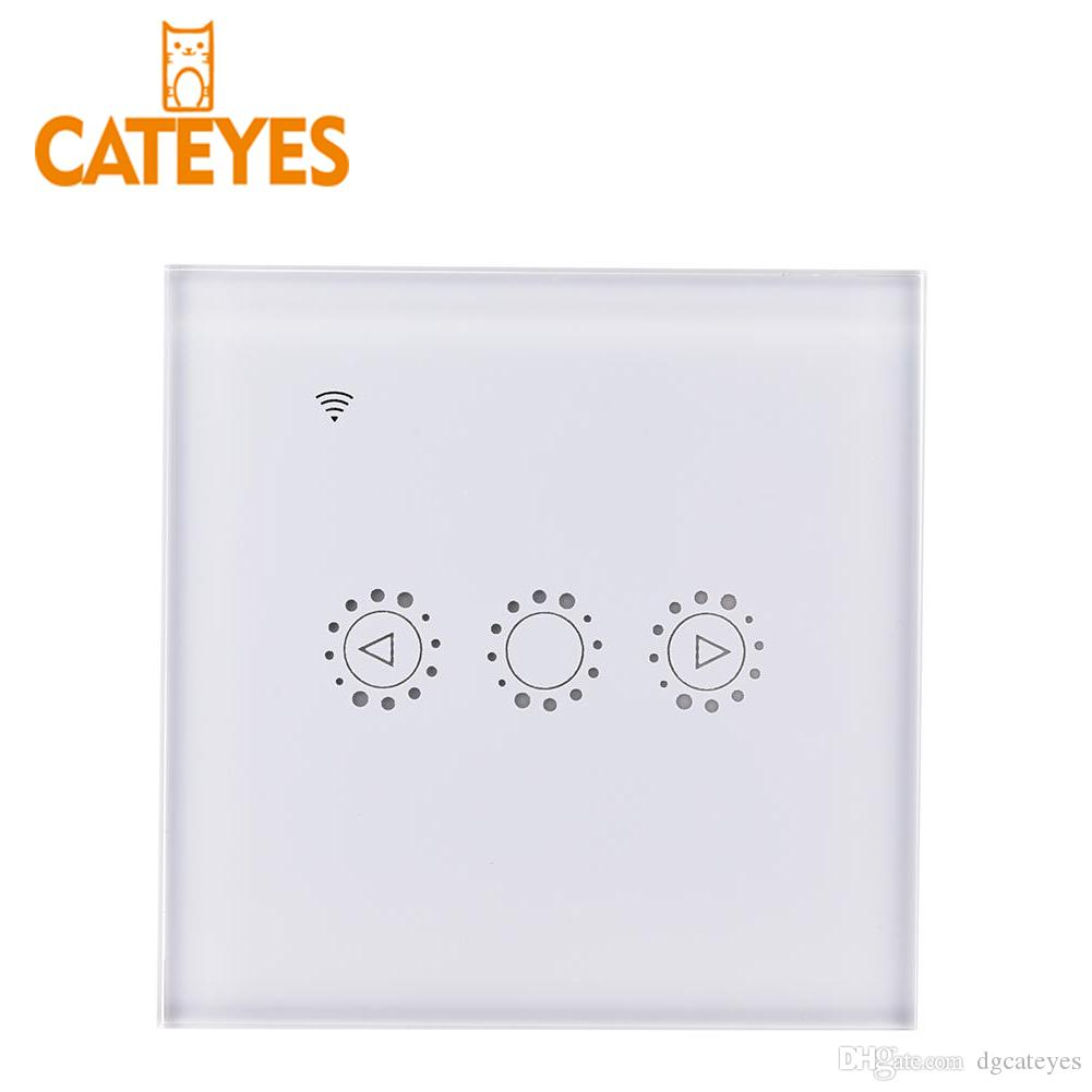 Touch Switch Glass Panel Wireless Wall Light Switch Eu Standard 220v Switch No Rf Function A Wide Selection Of Colours And Designs Switches