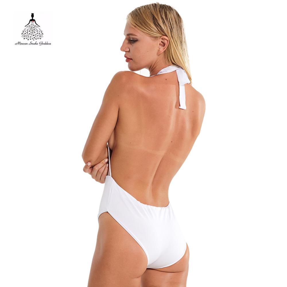 Swimwear Female monokini one piece swimsuit Trikini Visible Bra Sexy Women Swimwear bathing suit bather swimsuit China Style