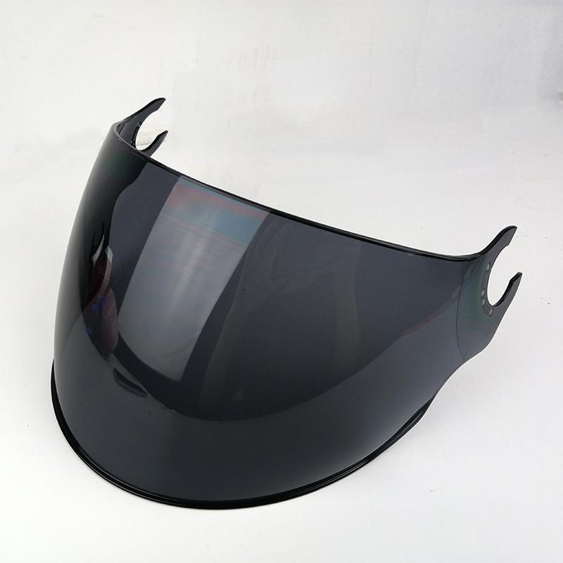 LS2 OF562 helmet extra lens silver colorful black outer visor replacement face shield lens for LS2 OF562 open face half helmet