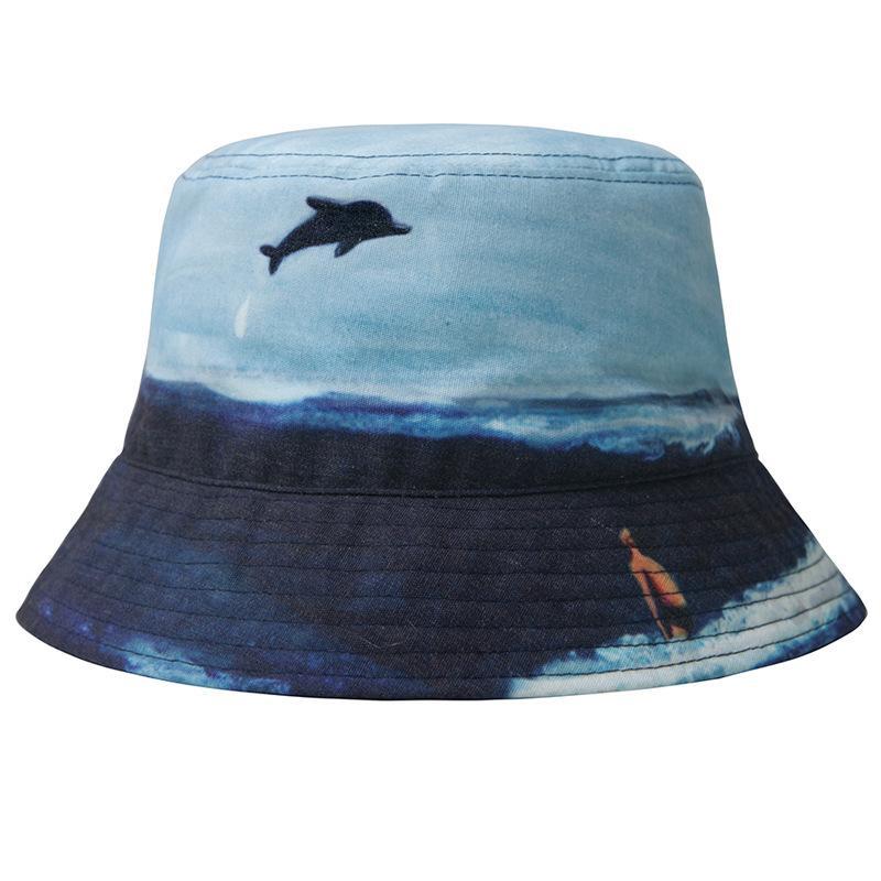2017 Aircraft Printing Bucket Hat Fisherman Hats Men Women Outer Summer  Street Hip Hop Dancer Cotton Panama City Hat Fishing Hat Wide Brim Fedora  From ... 2dee96c14