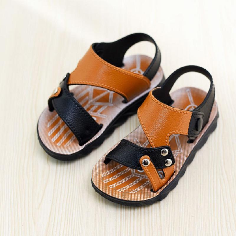 b29128a6c55cb Acheter Été Bébé Garçon Chaussures Garçon Sandales 2 12 Ans Chaussure  Enfants Chaussures D été Enfants Sandales Vente Chaude 7165 De  25.63 Du  Bradle ...