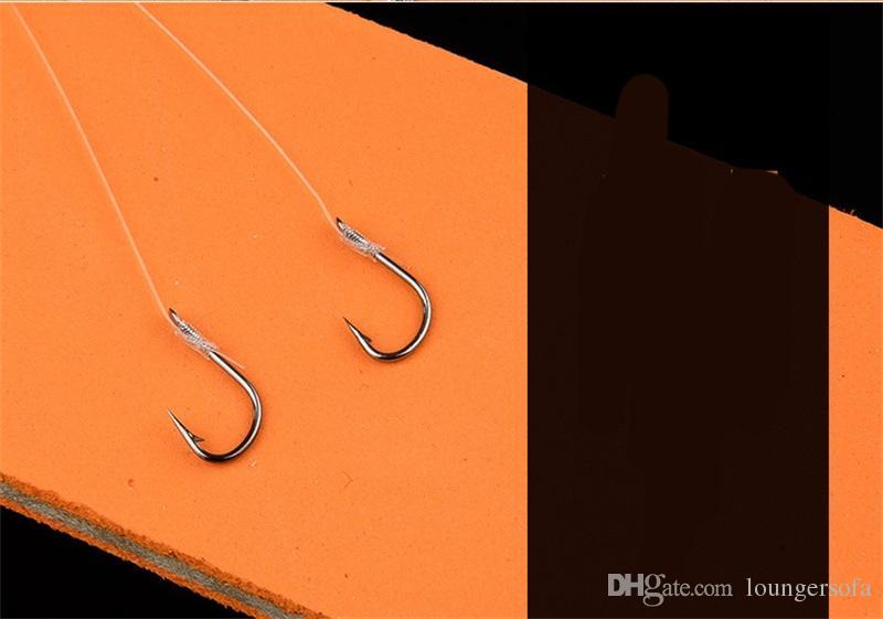 Готовый продукт Рыболовный крючок, связанный 10 шт. A Sell Ise Непал Рыболовный крючок Мини-углеродистая сталь Крепкие рыбные опоры для подарка 2 8 утра Z