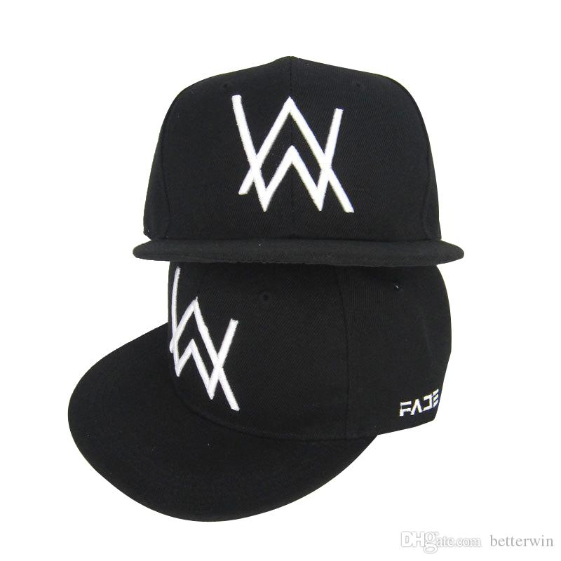 10PCS / LOT SINGYOU New Black Embroidery Baseball Cap The Return of Men Women Hip Hop Hat Snapback Cap