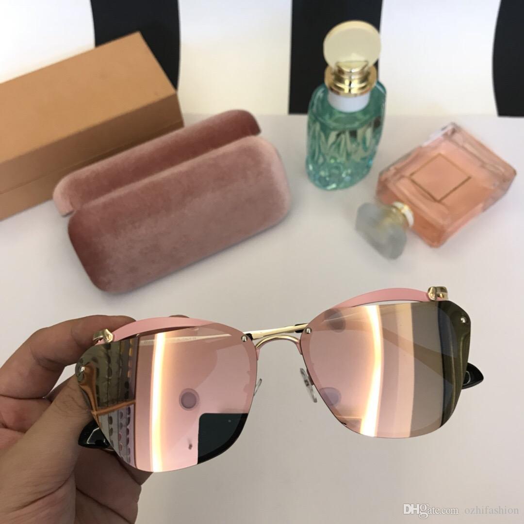 de9bbfb30f Hot Sale 2018 New Sunglasses Women Brand Designer Fashion Summer Style Cat  Eye Sun Glasses Women S Sunglasses 0104 With Box Electric Sunglasses  Fastrack ...