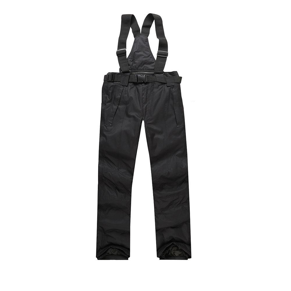 19c6ad19c61fc Compre 2017 Nuevos Hombres Pantalones De Esquí Cálido Deportes Al Aire  Libre Pantalones De Nieve De Las Mujeres Mujer Invierno Snowboard Hombre  Con Correas ...