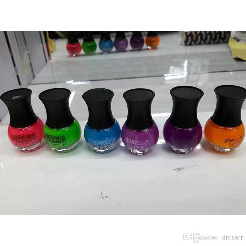 Fashion Neon Nail Polish Harmony Gelish For Nails Fingernail Art ...