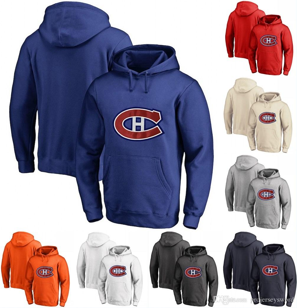 2019 Montreal Canadiens Hoodie 27 Karl Alzner 41 Paul Byron 47 Kenny  Agostino 40 Joel Armia Personalized Custom Hockey Sweatershirt Jerseys From  ... 49dad4446b4