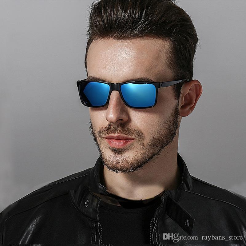 831afbf995 2140 Polarized Sunglasses Men 2018 Retro Square Mirror Driving Sun Glasses  UV400 High Quality Brand Lunette De Soleil Homme Online with  14.38 Piece  on ...