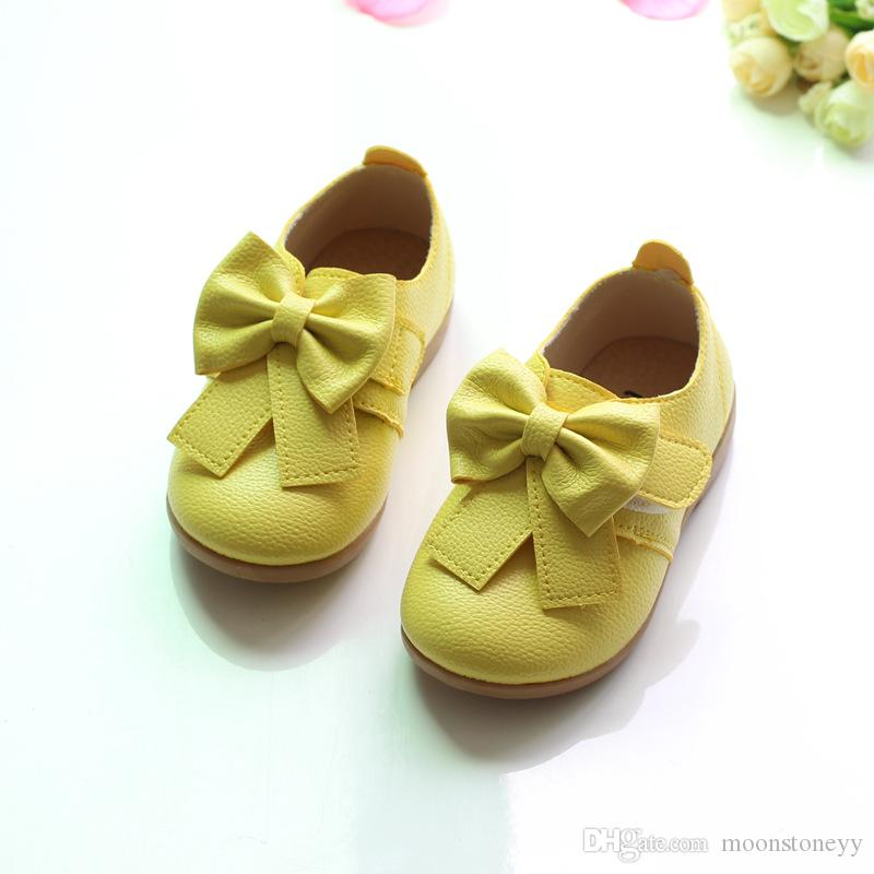 Sneakers  Fashion Princess Girls Shoes Kids Soft Casual Single Shoes