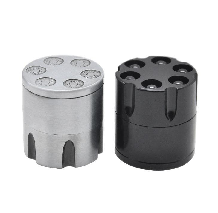 Nueva amoladora del cigarrillo forma de la bala del interruptor del cigarrillo del metal mini diámetro de la amoladora del cigarrillo 30m m