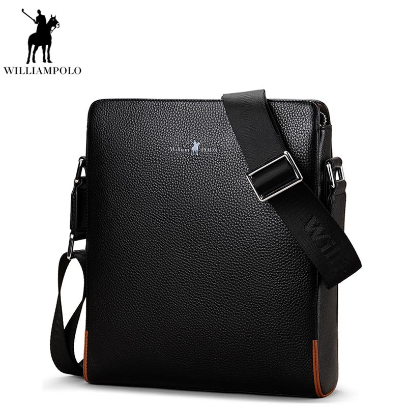 2018 Men Shoulder Bag Genuine Leather Designer Messenger Bags Black  Crossbody Bag For Male Business Casual Handbags PL009D Brahmin Handbags  Messenger Bags ... 3c0228ec3ff0c