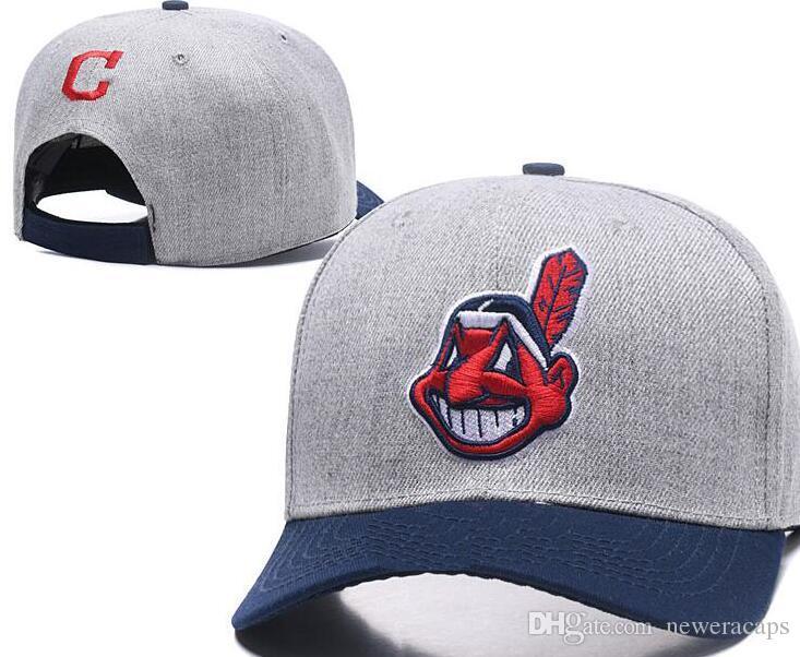 2019 American Team Hats Cleveland Curved Snapback Sports Hats Strapback  Baseball Caps Mens Womens Fashion Cap From Neweracaps 918596f53b