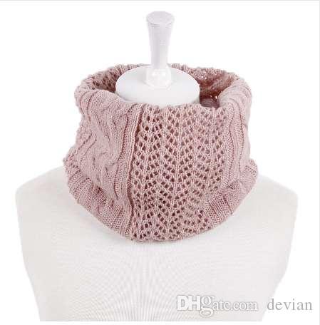 Großhandel Winter Unisex Gestrickte Schals Lic Weibliche Ring Kragen