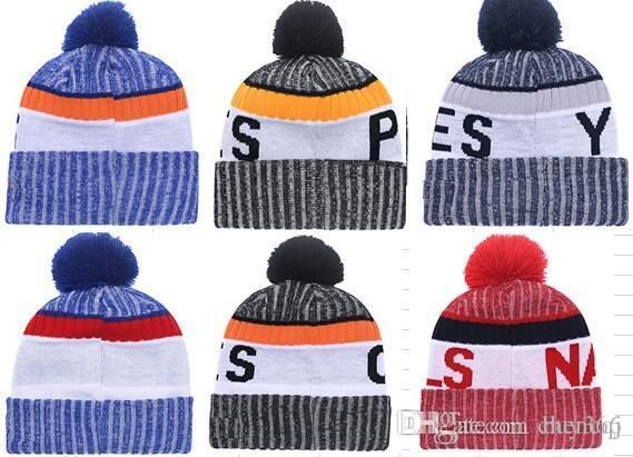 pom Beanie With Fleece American Football 32 teams Beanies Wool Hat Gorro Bonnet basketball Beanie Caps Baseball ALL Teams
