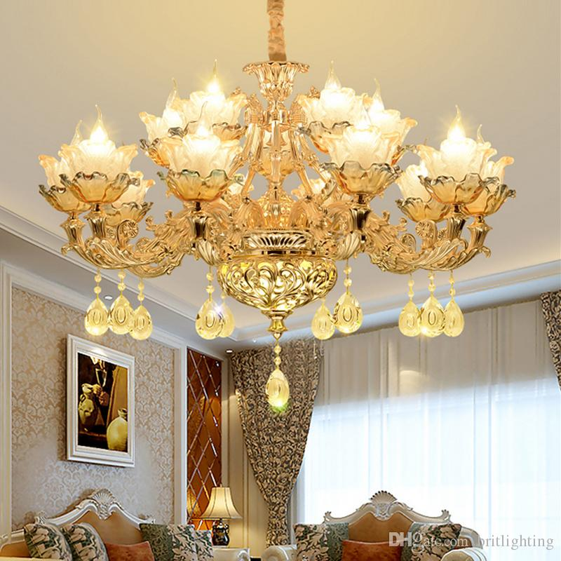 New Dining Room Chandeliers Cristal Lamps Lamp Modern Led ...
