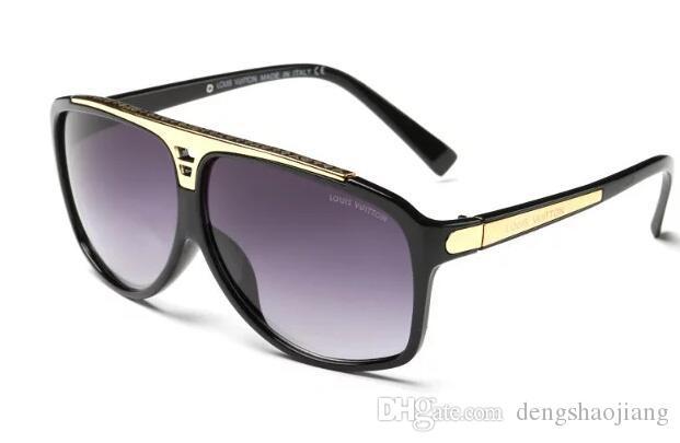 8cbaff3b2c Compre Piloto De Lente Polarizado De Alta Calidad Gafas De Sol De Moda Para  Hombres Y Mujeres Diseñador De Marca Gafas De Sol De Deporte Vintage Con  5761 A ...