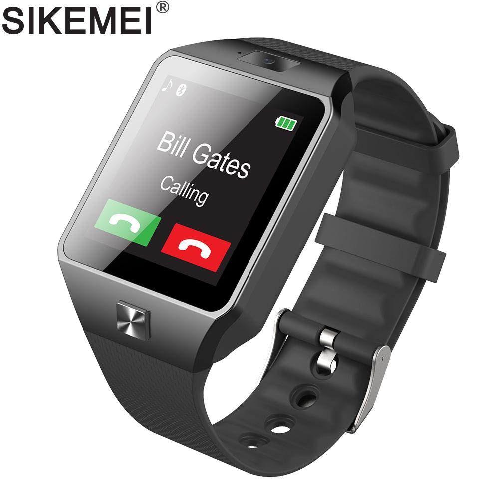 a11484970dc SIKEMEI Smart Watch Phone Smartwatch DZ09 Wrist Watch Camera Pedometer SIM  TF Card PK A1 GT08 Q18 For Android IOS Kids Smart Watch Reviews Smart Watch  ...