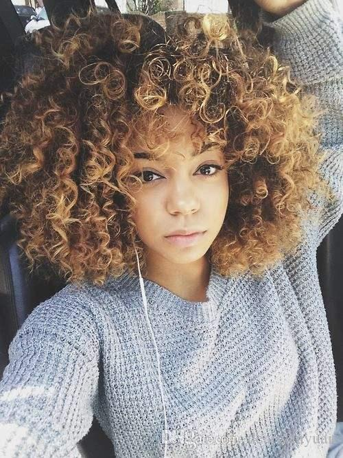 Women Ladies Full Lace Human Hair Wigs Heat Resistant Fiber Gold