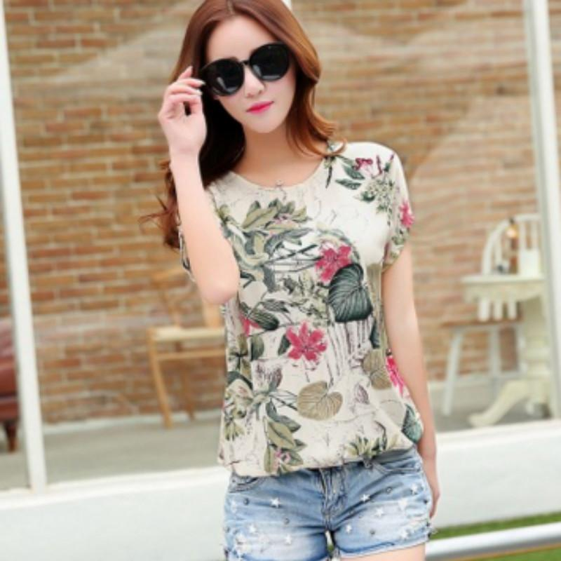 2797199c4 Women Summer Style T-shirt Casual Tee Shirt Femme Ladies Top Tees ...