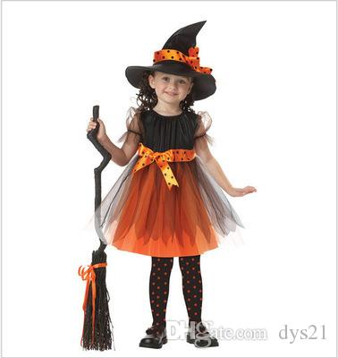new halloween costumes for children cosplay childrens costumes childrens witches dress up as witches masquerade ball perform dress perform dress halloween