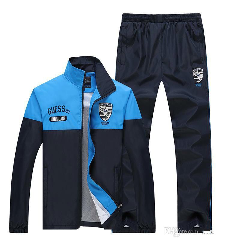 finest selection 92e54 49dc1 Sconto Abbigliamento sportivo da uomo 5XL Mesh Thin Tuta da uomo Set Jogger  Suit Set Pantaloni Felpe da uomo Felpa Sportsman Wear
