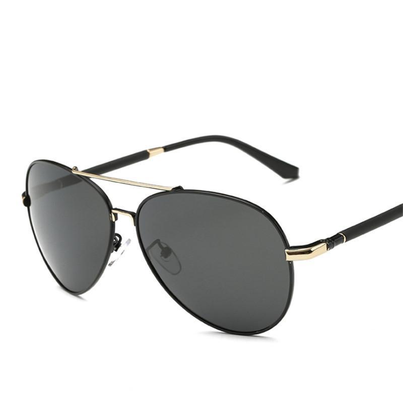 fe01d62bee Compre Gafas De Sol Para Hombre Gafas De Sol Graduadas A Medida Gafas  Polarizadas Gran Marco De Sombreado De Metal Myopia Hyperopia A $26.5 Del  Arrowhead ...