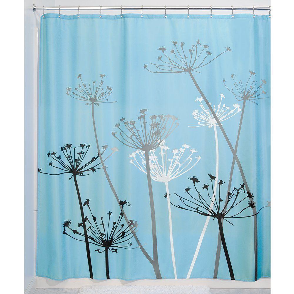 2019 Black And White Dandelion Shower Curtain Printing Waterproof Mildewproof Polyester Fabric Bath Bathroom From Baibuju8 3545
