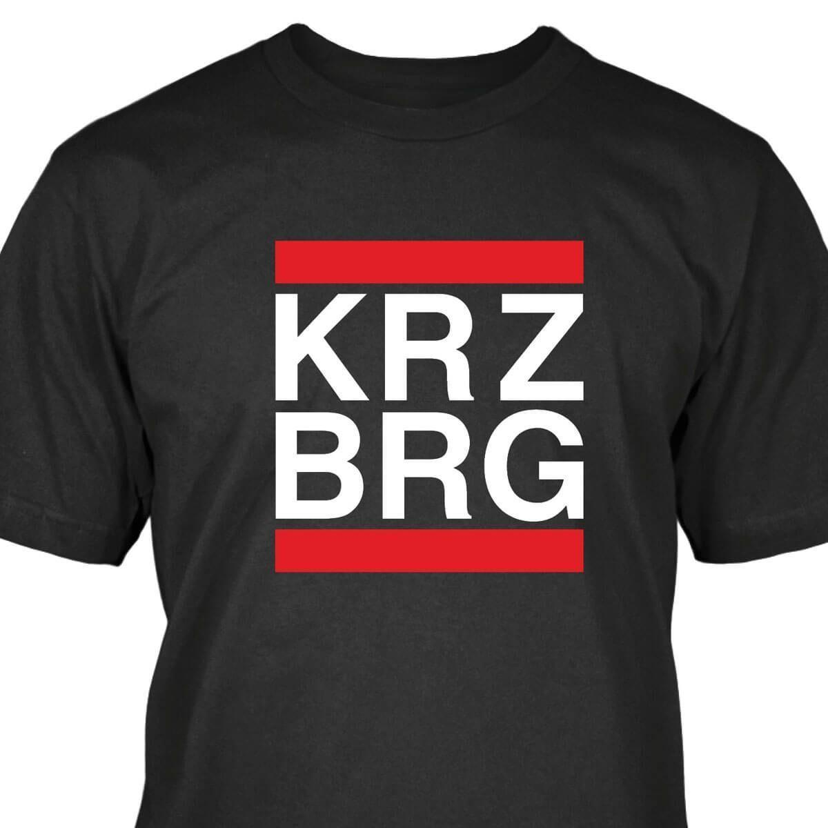 b0d33695 Kreuzberg T Shirt Mens 2018 Fashion Brand T Shirt O Neck 100%cotton T Shirt  Tops Tee Custom Environmental Printed Tshirt Male Hip Hop Funny Cheap Tee  Shirts ...