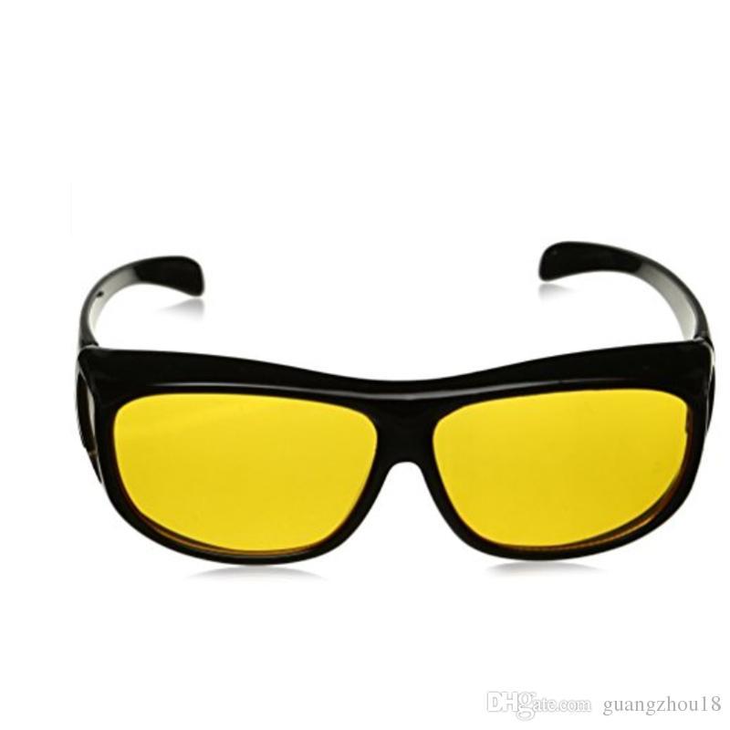 Compre HD Visão Noturna Condução Óculos De Sol Lente Amarela Sobre  Envoltório Óculos De Condução Escuro Óculos De Proteção Anti Brilho Ao Ar  Livre Eyewear ... d4f070abf4
