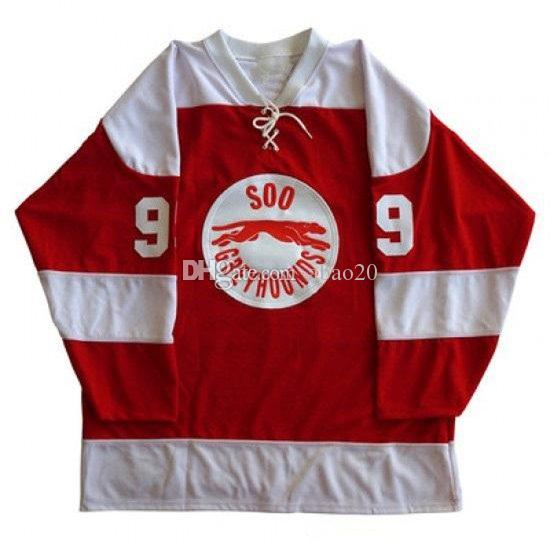 d5c8a5acc 2019 Sault Ste Marie Soo Greyhound 99 Wayne Gretzky Ice Hockey Jersey Men S  Embroidery Stitched Customize Any Number And Name Jerseys From Abao20