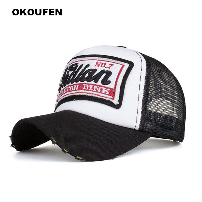 36a76bd37059b OKOUFEN 2018 Brand Baseball Cap Men Snapback Cap Hat Women Vintage Baseball  Hat For Men Casquette Bone Sports Sun Gorras Design Your Own Hat Make Your  Own ...