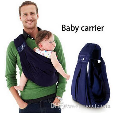 Carriers Slings Infant newborn Baby lattice carrier Sling wrap kids Nursing bag Pouch Baby Safety Gear 1898