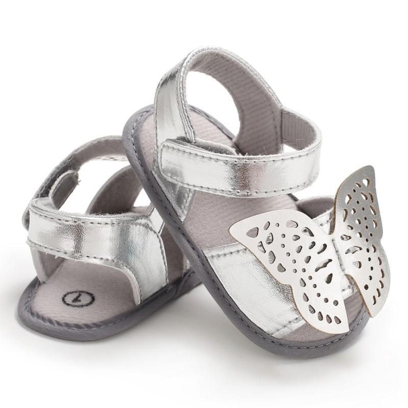 322a672b48392 Acheter Bébé Chaussures Bébé Fille Sandales D été Nouveau Mode Nouveau Né  Mignon Papillon Princesse Chaussures Filles Casual Sandales Douces 0 18 M  2018 De ...