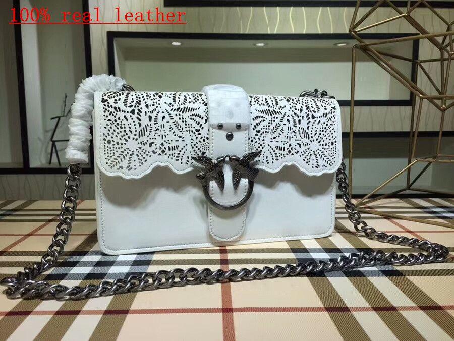 100% echtes Leder 2018 heiße Art und Weiseentwurfs-Schulterbeutel-Art und Weisemarke quilted Handtasche klassische doppelte gesteppte Handtaschenleder-Schulterbeutel