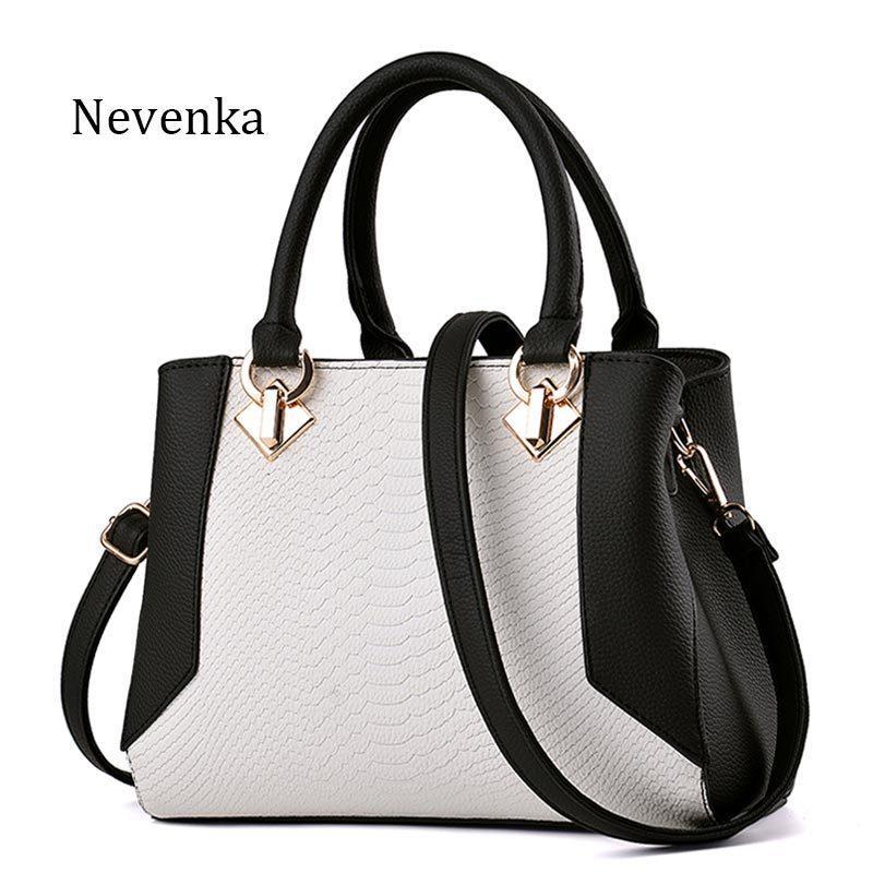 Nevenka Women Handbag PU Leather Bag Zipper Crossbody Bags Lady Bag High  Quality Original Design Handbags Top Handle Bags Tote Y18102303 Handbags  Purses ... 92d0b1978737c